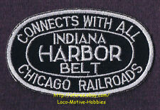 LMH Patch INDIANA HARBOR BELT Railroad IHB CONNECTS CHICAGO Connection Railway b