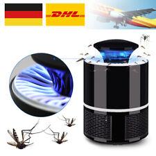 Moskito Killer Insektenvernichter Elektrisch UV LED Lampe Fliegenfänger DHL