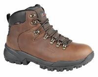 Mens Leather Waterproof Superlight Lace Hiking Walking Trail Ankle Boots Shoe