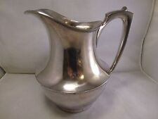WALLACE  64 OZ Vintage,  Wonderful Silver Plate Pitcher .... ...1940's # 9251