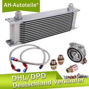 Universal Ölkühler KIT 13 Reihen AN8 Mit Thermostat Für VW Audi BMW OPEL