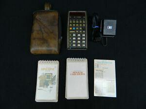 Hewlett Packard HP-67 Calculator, Battery Pack, AC Adapter, Standard Pac & More