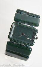 Nixon Women's The Vega A726641 Green Plastic Quartz Watch with Green Dial