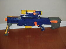 NERF Dart Gun CS6 LONGSHOT Rifle With Scope ( TESTED )