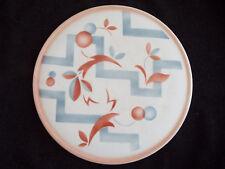Bauhaus Art Deco Keramik Teller Spritzdekor  Elsterwerda um 1930
