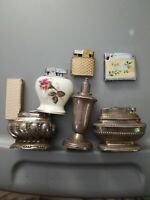 Vintage Lot Of 7 Cigarette Lighters As-Is