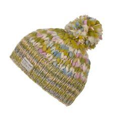 a87e98597b9 Kusan Uneven Yarn 100% Wool Multi-coloured Bobble Beanie Hat (PK1731 PK1831
