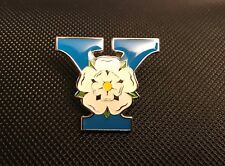YORKSHIRE ROSE ENAMEL PIN BADGE GIFT WAR OF THE ROSES (PB23) BIGGER THAN OTHERS
