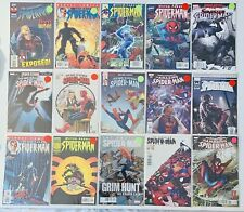 Spider-Man Comics Lot Of 26 Books Amazing Spider-Man Sensational, Peter Parker