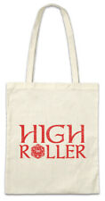 High Roller Shopper Shopping Bag Nerd Fun RPG MMORPG Gamer Gaming Dices Dice