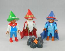 Playmobil Schloss Märchen Magic 3 x Zwerg Wichtel 4056 5142 4250 #40276