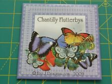 CHANTILLY FLUTTERBYS PAPERCRAFTING CD-ROM BY FEE J DESIGNS - NEW -