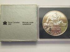 1987 Canadian Silver Dollar, Davis Strait, 50% silver mint pkg