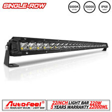 "Autofeel 22 inch straight Led Light Bar Combo Flood Spot 20 22"" Offroad Truck"
