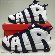 NIKE AIR MORE UPTEMPO TRAINERS MENS BLUE OLYMPIC LIMITED EDITION SHOES UK 12