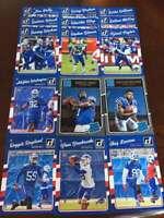 2016 Donruss Buffalo Bills Team Set w 6 RC 15 Cards in all!
