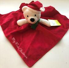 Baby Starters Snuggle Buddy Christmas Bear by Rashti & Rashti New Free Shipping