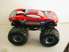""" EARLY MODEL SPIDER-MAN SMALL WHEELS METAL BASE "" MONSTER JAM TRUCKS CARS"