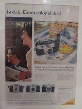 Original Vintage Advertisement mounted ready to frame Kodak Signed 50 Camera