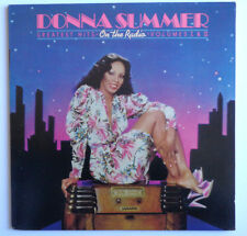 "DONNA SUMMER "" On The Radio Greatest Hits 1 & 2 ""Vinyl LP "" POSTER "" NBLP7191 NM"