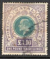 Stamp Natal SG143, used, combine shipping 1069