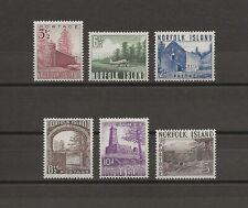 More details for norfolk island 1953 sg 13/18 mnh cat £32