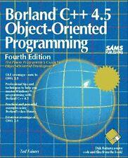 Borland C++ 4.5 Object-Oriented Programming
