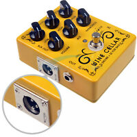 Caline CP-60 Driver+DI Box For Bass Guitar Effect Pedal Guitar Accessories