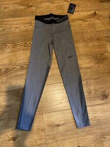 Nike Pro Dri Fit Running/gym Leggings Tights Sz S Bnwt Mesh Back Legs
