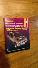 Haynes Repair Manual Toyota Pick-Ups & 4Runner 92075