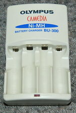ORIGINAL OLYMPUS BU-300 NiMH AA LR6 Mignon battery charger FULL WORK