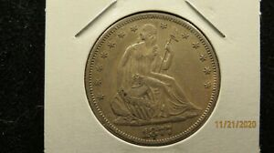 1877-S Seated Liberty V4 Resumed  Half Dollar - SILVER