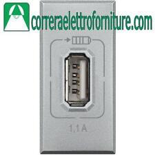 BTICINO AXOLUTE HC4285C1 USB RICARICA TECH