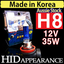 H8 Bulbs Globes Xenon Headlight HID 12V 35W Crystal Whire Vision Front Fog Light