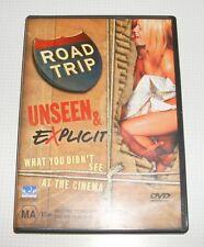 DVD - Road Trip - Unseen & Explicit - Breckin Meyer - Sean W. Scott - Amy Smart