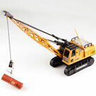 HuiNa Toys 1572 15CH 1/14 RC 2.4GHz Metal Alloy Crane Truck Engineering Vehicle