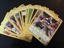2007 AFL Teamcoach Complete Gold Team Set Geelong x13