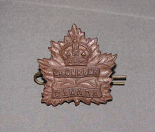 Wwi 2nd Canadian Mounted Rifles Cap Badge, Original in Great Shape