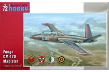 "SPECIAL HOBBY SH72284 1/72 Fouga CM 170 Magister ""Exotic Air Forces"""