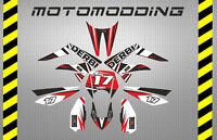 Pegatinas derbi drd racing stickers decals calcas decoración moto vinilos