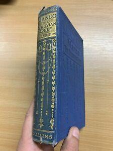 "c1910 ""MANCO THE PERUVIAN CHIEF"" WILLIAM KINGSTON FICTION HARDBACK BOOK (P4)"