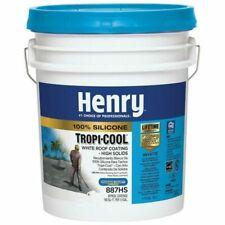 New listing Henry 887 Tropi-Cool Roof Coating - White (5 Gallon)