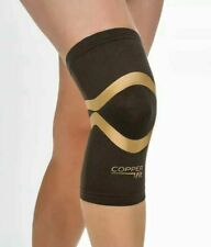Copper Fit Pro Series Compression Knee Sleeve Built in Kinesiology Bands Medical
