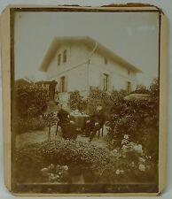 ALTES FOTO um 1910 SCHLEUSENWÄRTER VON DER RAGÖSER SCHLEUSE BEI EBERSWALDE FINOW