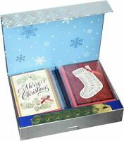 Hallmark Handmade Assorted Pack of 24 Boxed Christmas Cards Set 009200306042 New