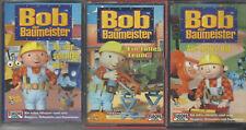3 Kassetten MCS Sammlung Bob der Baumeister Angebot Europa Mini Hörspiele
