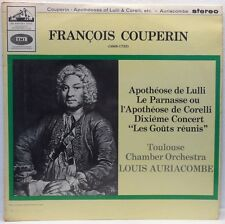 ASD 628 S/C Auriacombe / Toulouse Chamber Orchestra  COUPERIN Apotheose de Lulli