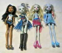 Monster High Doll Lot (6) ~ 4 Dressed Dolls