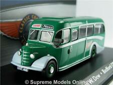BEDFORD OB COACH BUS MODEL 1:76 SIZE CORGI ATLAS 4642103 RON W DEW HUNTS OOC T4