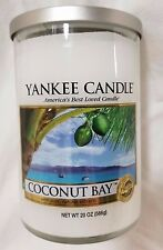 Yankee Candle COCONUT BAY Large 2-wick Tumbler 22 Oz New Housewarmer Fresh White